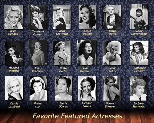 Favorite Featured Actresses