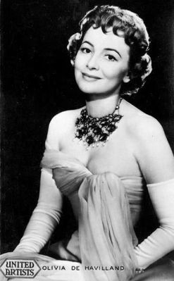 Olivia de Havilland address