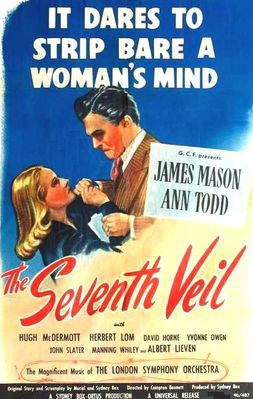 Poster from James Mason and Ann Todd in the Seventh Veil