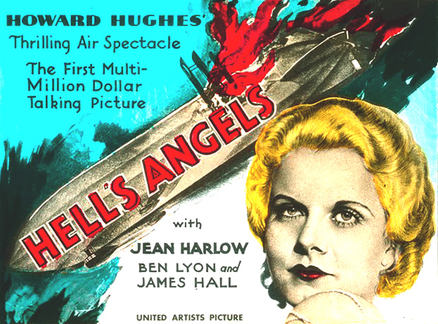 Jean Harlow Films: Howard Hughes Hell's Angels (1930)