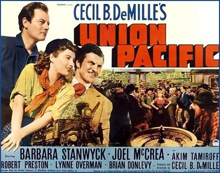 Movie Union Pacific Cast
