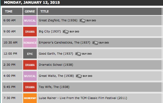 tcm monthly schedule turner classic movies tcm pays