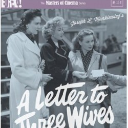 A Letter to Three Wives out on Blu-Ray in June in Dual Format edition