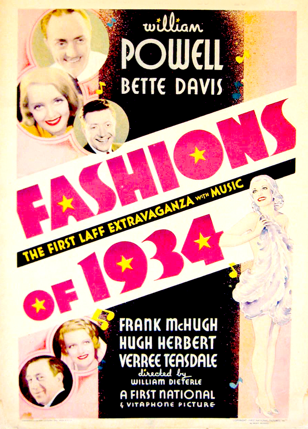 Fashions Of 1934 Full Movie I consider Fashions of