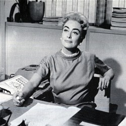 """Joan Crawford in """"The Best of Everything"""" (1959)"""