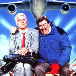"Julie Reviews Thanksgiving film: ""Planes, Trains & Automobiles"" (1987)"