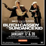 Butch Cassidy & the Sundance Kid to be shown on the big screen