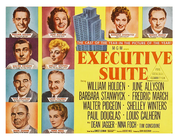 Executive Suite 1954 Starring Barbara Stanwyck