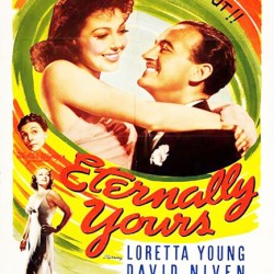 Julie Reviews David Niven in Eternally Yours (1939)