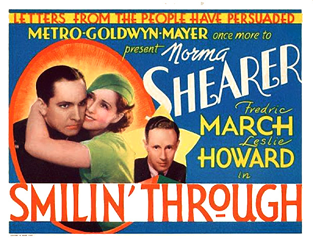 "Lynn Reviews Leslie Howard in ""Smilin' Through"" (1932)"