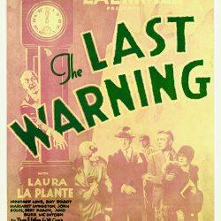 "Universal's Restored ""The Last Warning"" (1929) shown at San Francisco Film Fest"