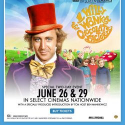 See Willy Wonka & the Chocolate Factory in Theaters