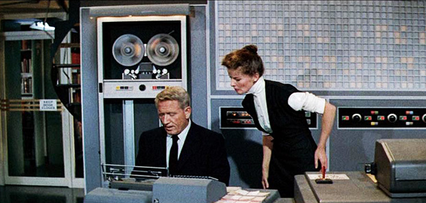 Desk Set Aka His Other Woman In The Uk Is A Comedy Directed By Walter Lang And Starring Spencer Tracy Katharine Hepburn