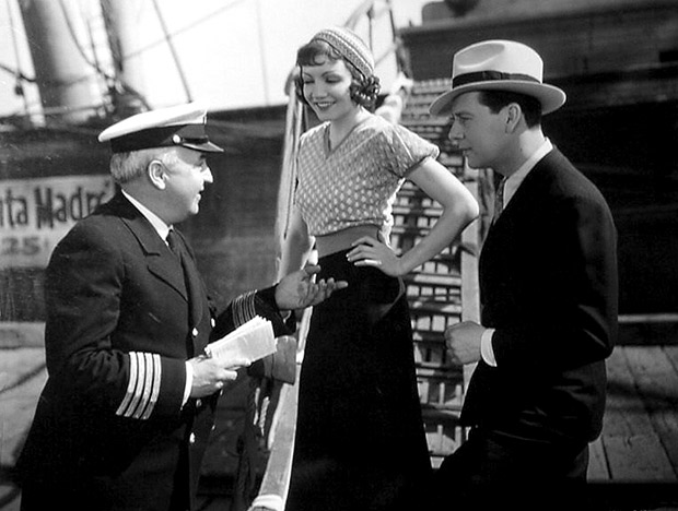 Claudette Colbert In I Cover The Waterfront 1933