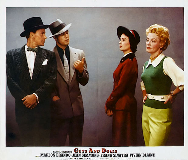 guys and dolls 1955 movie musical reviewed by julie