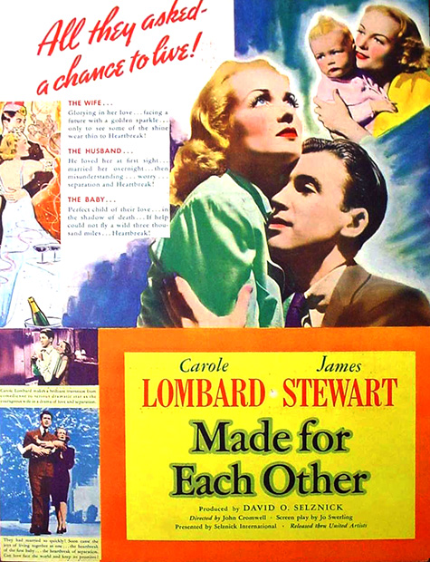 Made For Each Other: Carole Lombard Stars In Made For Each Other (1939