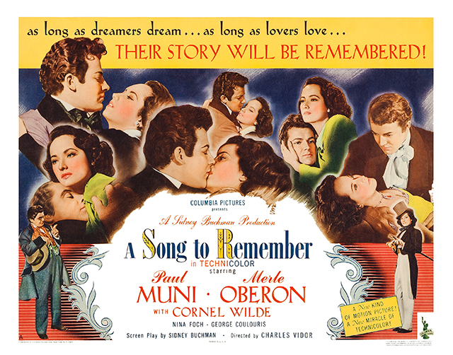 Image result for a song to remember 1945