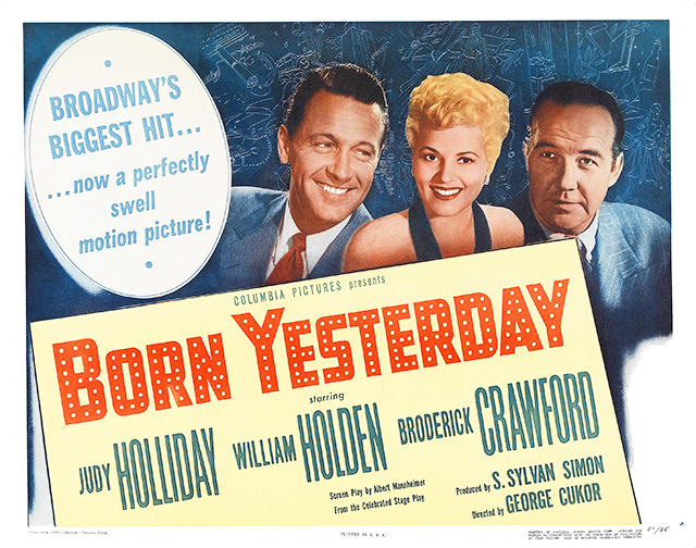 Review of comedy Born Yesterday (1950)