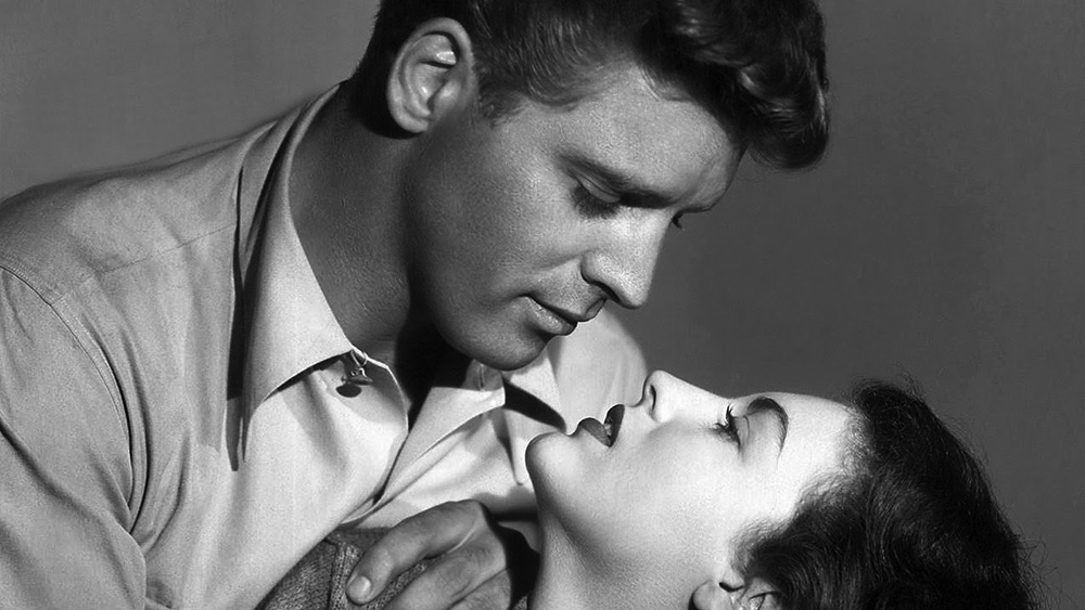 """Ava Gardner vamps it up in film noir """"The Killers"""" (1946)"""