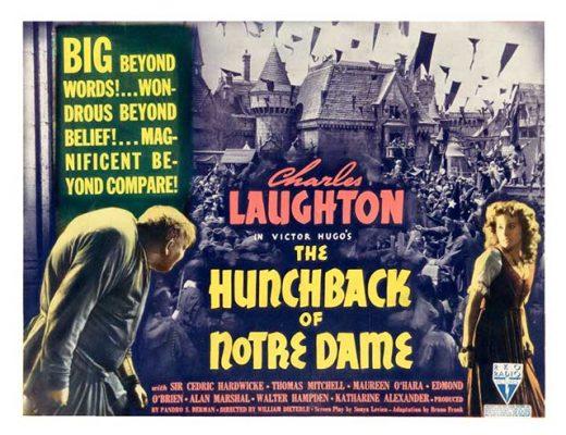 Maureen O'Hara in The Hunchback of Notre Dame