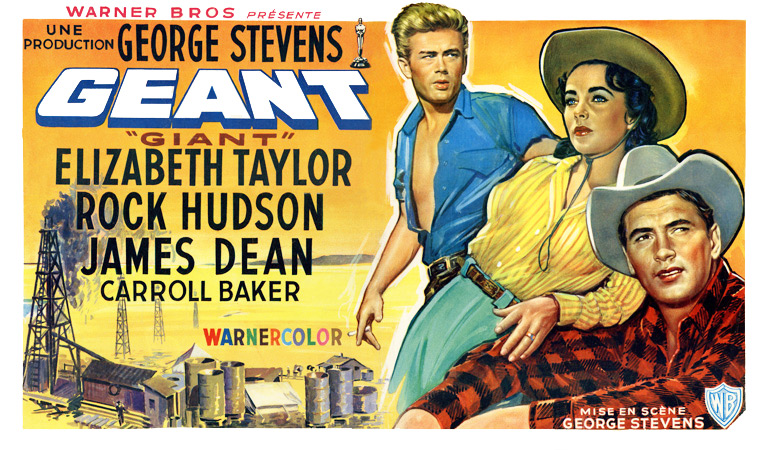 "Elizabeth Taylor as Texas Matriarch in ""Giant"" (1956)"
